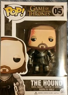 FunkoPop! The Hound #vinyl #GameOfThrones