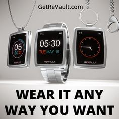Wear your ReVault as a watch, pendant or keychain! How would you? http://igg.me/at/revault