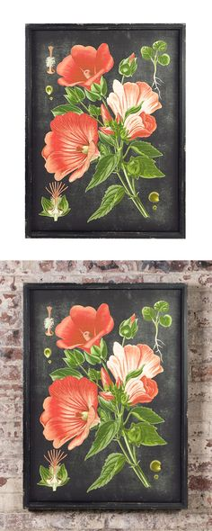 If you're committed to a mid-century aesthetic, you'll need art that fits the theme. This Mid-Century Botanical Print is a charming addition, delivering that vintage style without looking overly old-fa...  Find the Mid-Century Botanical Print, as seen in the The Industrial Botanist Collection at http://dotandbo.com/collections/the-industrial-botanist?utm_source=pinterest&utm_medium=organic&db_sku=115394