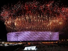 Slideshow : First edition of European games opens in Azerbaijan - Choicest images: First edition of European games opens in Azerbaijan - The Economic Times