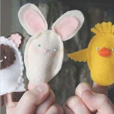 easter finger puppets
