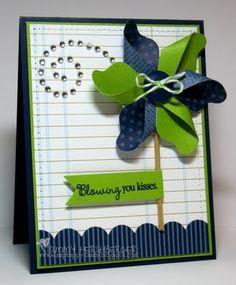 Amazing pinwheel card by Tammy Hershberger