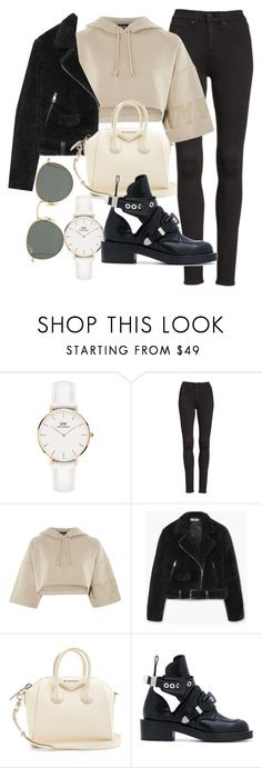 """Untitled #23177"" by florencia95 ❤ liked on Polyvore featuring Daniel Wellington, rag & bone/JEAN, Topshop, MANGO, Givenchy, Balenciaga and Ray-Ban"