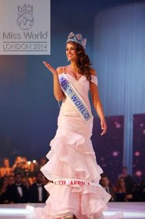 Miss South Africa 2014 Rolene Strauss Wins Miss Wolrd... http://www.thechitchat.co.za/2014/12/south-african-representative-rolene.html?spref=tw