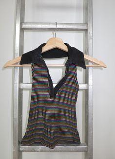 A vendre sur #vintedfrance ! http://www.vinted.fr/mode-femmes/dos-nu/15804902-haut-multicolore-teddy-smith-t34