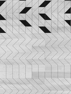 Ana Varela designs beautiful flooring made up of tessellating patterns