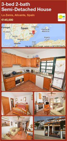 Semi-Detached House for Sale in La Zenia, Alicante, Spain Semi Detached, Detached House, Alicante Spain, Seville, Malaga, Valencia, Bath, Mansions, House Styles