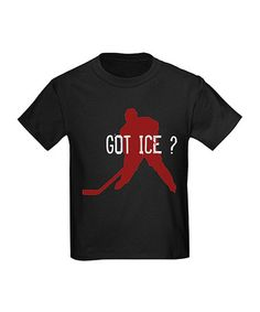 Take a look at this Black 'Got Ice?' Tee - Boys by CafePress on #zulily today!