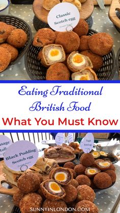If you're planning a trip to London, England you MUST know some things about eating traditional British food. Welsh Recipes, Scottish Recipes, Turkish Recipes, British Recipes, British Dishes, English Recipes, Traditional English Food, Romanian Food, Romanian Recipes