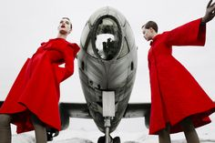 Lindsey Wixson and Ashleigh Good by Emma Summerton | Perfectlounge
