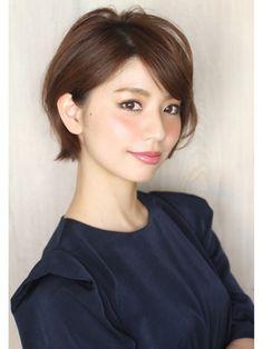 表参道美容室・渋谷美容室 30代髪型40代髪型 ショートボブヘア - 24時間いつでもWEB予約OK!ヘアスタイル10万点以上掲載!お気に入りの髪型、人気のヘアスタイルを探すならKirei Style[キレイスタイル]で。