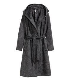 Mantel aus Wollmischung | Dunkelgrau | Damen | H&M AT