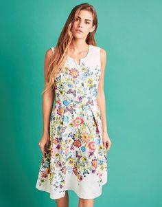 Yumi Floral Sleeveless Occasion Dress