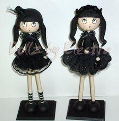 Gothic Lolita Dolls - sold