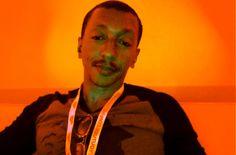 Praiz-B chilling in the Creator Lounge at # Vidcon2015