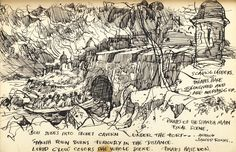 Pirates of the Caribbean story board