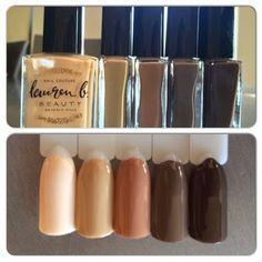 Nails: Lauren B Beauty Pastel Nail Polish, Pastel Nails, Polished Look, Swatch, Addiction, Beauty, Color, Short Nails, Pastel Nail