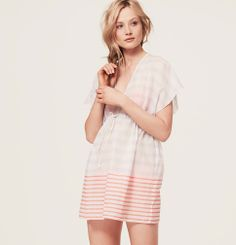LOFT Beach Rope Tie Swimsuit Cover Up | Loft