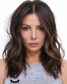 50 Fashionable Hairstyles for Dark-Brown Hair with Highlights