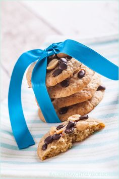 Backen macht glücklich   Chewy Peanut Butter Cookies: Erdnussbutter-Kekse   http://www.backenmachtgluecklich.de