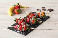 Fruitspiesjes met chocolade | HelloFresh Blog