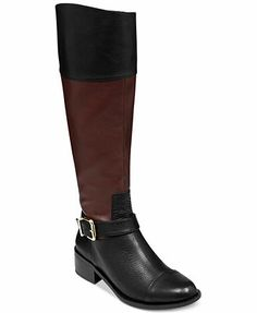 Vince Camuto Boots, Leisha2 Tall Wide Calf Boots