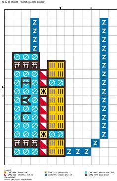 alfabeto della scuola U