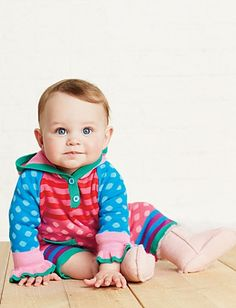 Bright Ideas Baby Sweater Romper | Baby One Piece Dressing