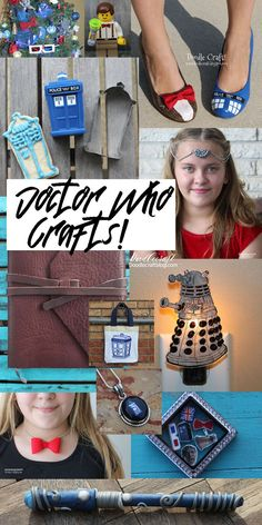 Doodlecraft: Doctor Who Season 10 Geekery Crafts and DIY!