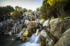 Grizzly Peak Waterfall - Chris Marquez