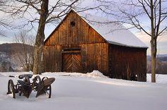 Old Barn - Jeffrey Newcomer