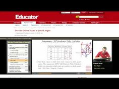 a collection of nice trigonometry word problems for beginners if you need help your trigonometry you have come to the right place educator com helps you to learn trigonometry online out any tutor or any