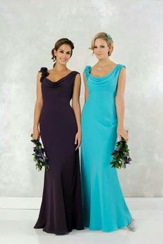 Purple one for bridesmaid dresses