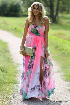 Love everything about this dress. Perfect dress to wear to a spring/summer wedding.
