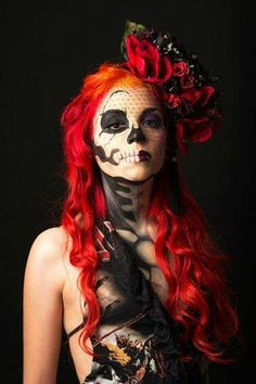 * wicked day of the dead makeup *