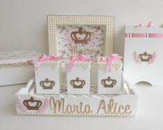Kit de Higiene Maternidade Coroa