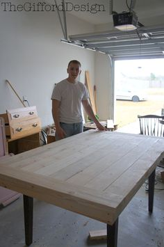The Gifford Design – DIY Farm Table