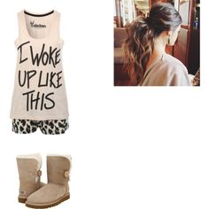 Untitled #75 by lexilove1999 on Polyvore featuring UGG Australia