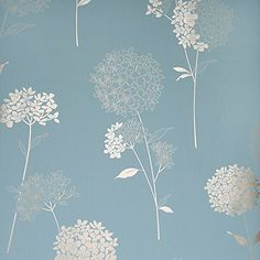 Dulux Feature Wallpaper - Easy Hang - Anabelle - Duck Egg - in Home, Furniture & DIY Bedroom Wallpaper Duck Egg, Hallway Wallpaper, Home Wallpaper, Feature Wallpaper Living Room, Silver Wallpaper, Teal Living Rooms, Living Room Decor, Inspirational Wallpapers, Stencil Painting