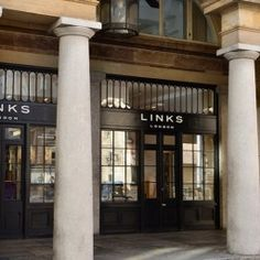 The Links of London store in Covent Garden.