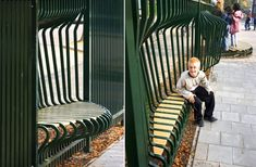 TEJO REMY'S PLAYGROUND FENCES Tejo Remy, Remy Veenhuizen, Reclaiming Design, repurposed fences, rethink fence, playground fence, green design for kids, Dutch designer, Droog Designer.