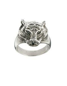 Skool Ov Jenius by Lovebullets Panther Ring in Sterling Silver