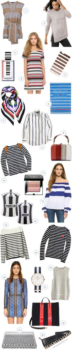 fun striped things -