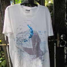 INC International Concepts Men's Graphic EAGLE White Cotton T-Shirt XXL #INCInternationalConcepts #GraphicTee