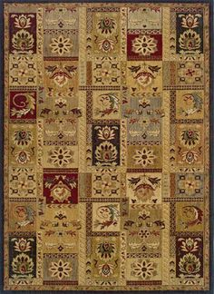 """Infinity Collection Woven Rug (#1137B) 1'10"""" X 7'6 by Classic Rugs. $148.13. 100 Nylon.. Soil, stain and fade resistant.. Machine woven. Featuring a machine-made construction of resilient nylon, each rug offers beautiful styling and value with the durability to meet the demands of active lifestyles. Dimensions:1'10"""" X 7'6 Some assembly may be required. Please see product details."""