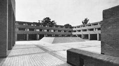 Harvey Court, Gonville and Caius College, Cambridge University, 1958-64 Sir Leslie Martin and Colin St. John Wilson.