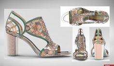 3D Printed Shoe Designer Contest Winner Chosen  http://3dprintingchannel.com/3d-printed-shoe-designer-contest-winner-chosen/