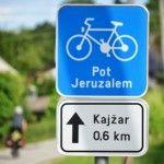 Bicycle Travel Slovenia:  A road to Jeruzalem