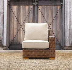 Restoration Hardware Antigua Right Arm Chair
