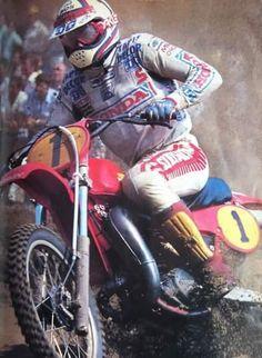 André malherbe # vintage motocross # 1 # Honda